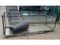 "New 6ft tank Aquarium 72""x24,5""x24""H 680l with sliders- Free delivery"