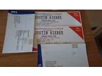 Justin Bieber - Cardiff Principality Stadium - 30 June 2017 - 2 tickets