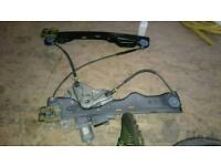 Astra 2010 passenger side front window motor and rail