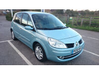Renault Scenic 2008 AUTOMATIC, 1.6 petrol, 86.000 miles, 08 plate. MOT August 2018.
