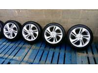 "Vauxhall Corsa E, 17"" SRi, SXi, Limited edition original silver alloys in excellent condition"