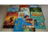 Childrens Books -DISNEY Story Collection -10 Books- Hardback- Used- Excellent Condition