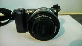 Sony A5000 (ILCE-5000L) Black With Kit Lens E PZ 16-50mm F3.5 – 5.6 OSS