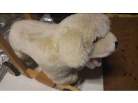 Labrador baby walker/ride on toy