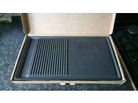 Leisure Cooker Griddle Plate (Brand New, Never Used)