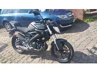Yamaha MT125R ABS