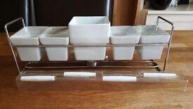 New Chocolate fondue set from Next £1