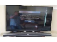 "Samsung 55"" Curved TV spares or repair"