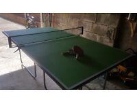 Junior folding table tennis table