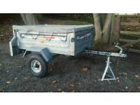 Erde 122 Trailer*Galvanized*