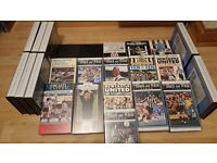 Selection of Newcastle video tapes (VHS)