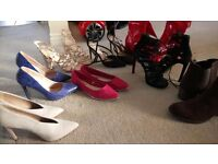 SIZE 6 SHOES AND BOOTS JOB LOT