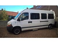 Renault Master LWB Camper / Tourer/ Race Van / Surf Van / Day Van
