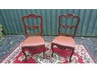 Chairs French rococo
