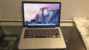 """Used 2015 13"""" Macbook pro with Retina display, Webcam, HDMI and Webcam for Sale"""