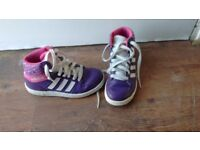 Adidas high tops size 13