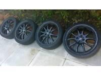 Mini r56 r55 jcw alloy wheels