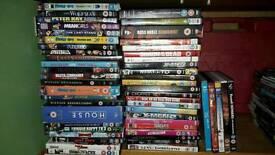 Assorted DVDS bulk lot (51 DVDS)