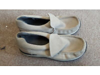 Ladies size 5.5 Kickers Loafers shoes Suede