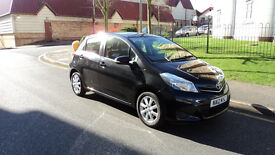 Toyota Yaris 1.0 VVT-i TR 5dr (Touch & Go) 2012 (12) **** Road Tax is Only £30 Per Year £4750