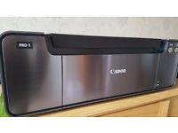 Canon Pixma PRO-1, 12 ink A3+ printer. Print res. 4800 x 2400 dpi, + 9 assorted new ink tanks.