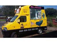 Batman icecream van. Suzuki carry 2003
