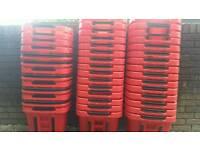 Shopping baskets aravan 34l red