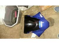 Yamaha R6 full fairings inc tank