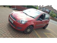 2007 1.25l Ford Fiesta Style, Mot till October, only 2 previous owners, Not Astra Focus Zetec Clio