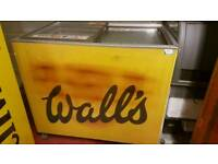 Wall's commercial ice cream freezer with guaranty fully working