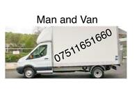 Man van hire delivery removal cheap 24/7 furniture Luton burton on Trent