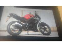 Ajs tn12 125cc learner legal motorbike only not ktm honda yamaha ( british made)swap 125/250 motox