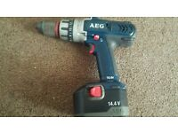 Aeg hammer drill