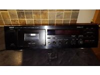 KX 390 Natural sound stereo cassette deck