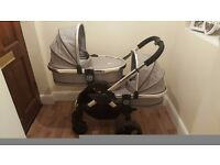 iCANDY PEACH BLOSSOM TWIN PUSHCHAIR | 2 CARRYCOT | 2 SEAT