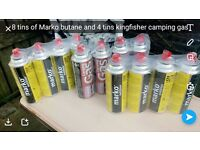 12 bottle off butane gas no use for them £30 for all
