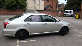 toyota avensis petrol, rg 2003 mot until august 2019 very Good condition and clean, 07419180418