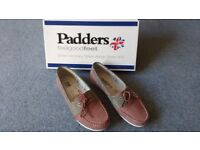 Ladies Padders Deck Shoes size 4 1/2 brand new in box