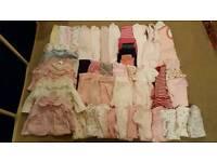 0-3 mths girls clothes