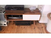 Watson hardwood media unit - Swoon Editions - pickup only