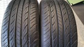 205 55 16 2 x tyres Constancy LY688