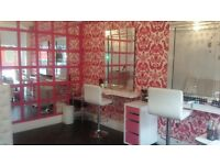 Hair &Beauty Salon FOR SALE 50% share (Rent only £275 per month)