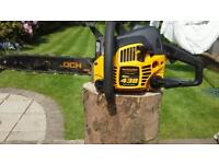 Mcculloch 438 petrol chainsaw in excellent condition