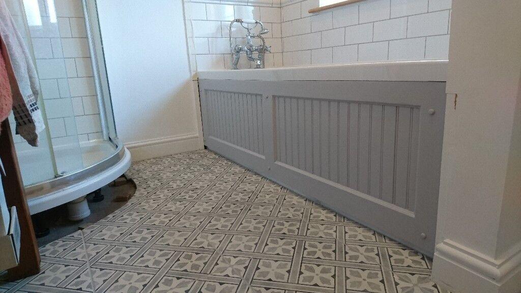 Laura Ashley Floor Tiles >> Laura Ashley Mr Jones Ceramic floor tiles in charcoal grey