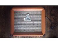 Orange Crush 15R combo guitar amp with built-in spring reverb