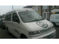 Well loved Mazda bongo campervan