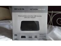 Belkin Network USB Hub - Share printers or other USB devices - FREE