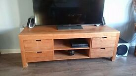 Wooden TV unit perfect condition