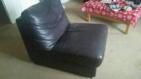 Armless armchair!