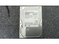 "Hitachi 500gb SATA HDD 3.5"" Superb Condition"